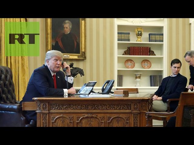 Conversación telefónica entre Donald Trump y Mariano Rajoy