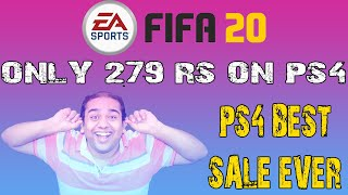 FIFA 20 - Only 279 Rs/- on PS4…