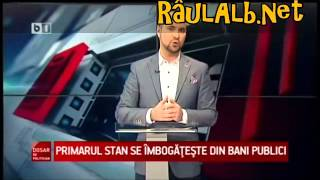 Adrian Ţuţuianu si primarul Cristian Stan (cînd ? )