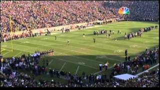 Notre Dame Football Senior Day 2012 Introductions