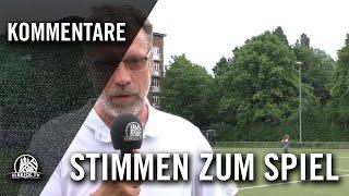 Die Stimme zum Spiel (HEBC - TSV Sasel, U17 B-Junioren, Oberliga)