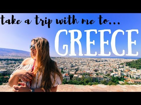 Take a trip with me to... GREECE | Travel Vlog