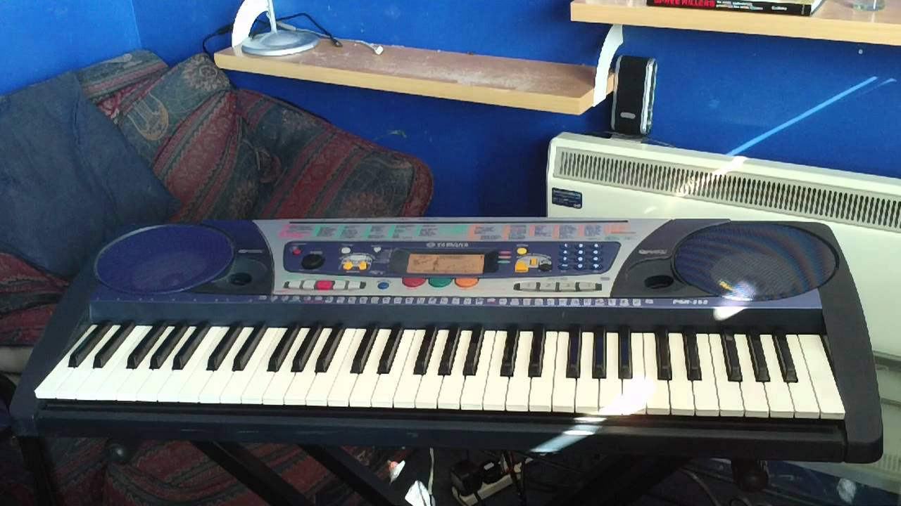 Yamaha psr 262 keyboard 4 demo songs that were not in the for How to repair yamaha keyboard