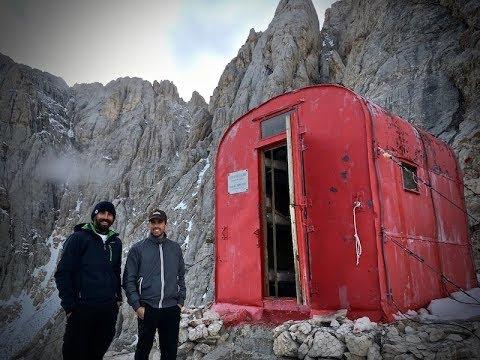 Gran Sasso-Trekking ferrata e pernotto al bivacco Bafile (Parte 1)