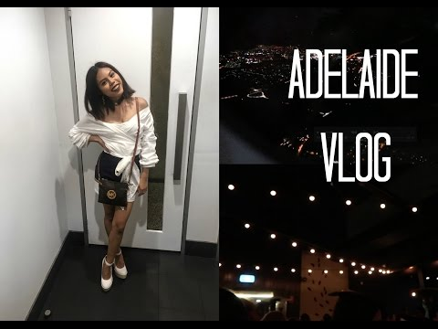 ADELAIDE VLOG - Night Out!