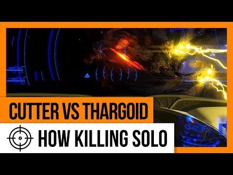 Killing Thargoid Solo (full battle)