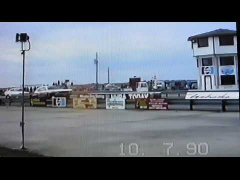 NHRA class racing at Nebraska Motorplex 1990