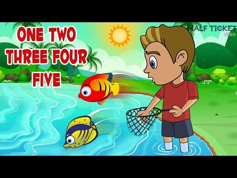 One Two Three Four Five | Nursery Rhymes And Kids Songs With Lyrics