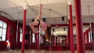 Видеоуроки Школы танцев Exotic Dance. Урок 13:  Аллегра (Allegra).