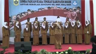 Juara 1 Lomba Paduan Suara Tingkat SMK Se Kabupaten Bogor