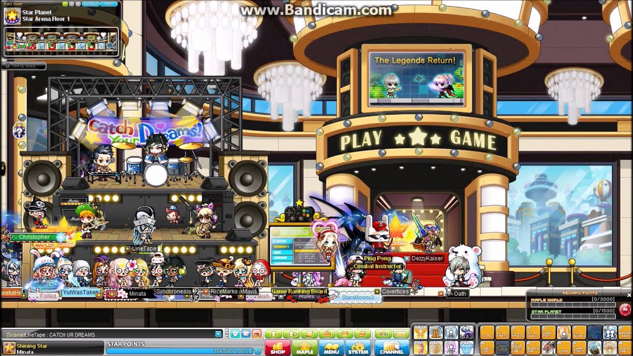 [Maplestory] Open Concert Full Band Chair! - YouTube & Maplestory] Open Concert Full Band Chair! - YouTube