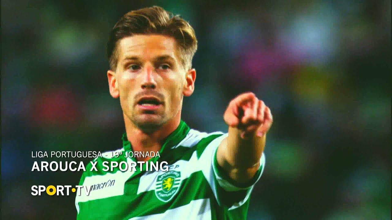 Arouca x Sporting | Liga Portuguesa | 19ª Jornada  | SPORT TV