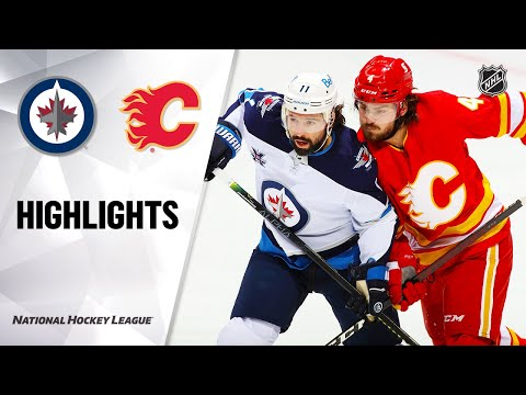 Jets @ Flames 10/8/21 | NHL Highlights