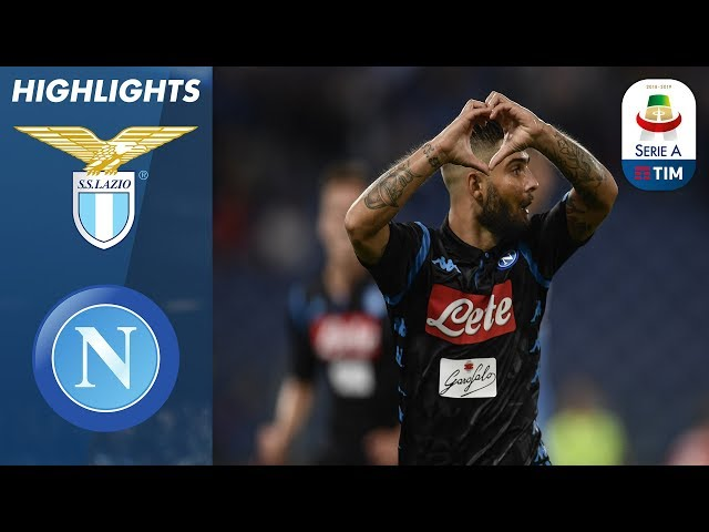 Lazio 1-2 Napoli | Insigne segna il gol della vittoria del Napoli sul Lazio | Serie A