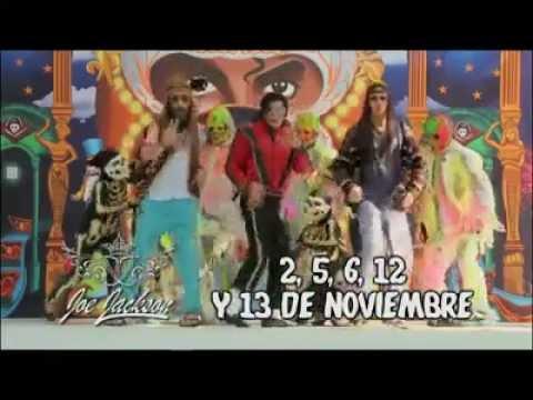 Imitador de Michael Jackson en la Feria de Chapultepec 2011
