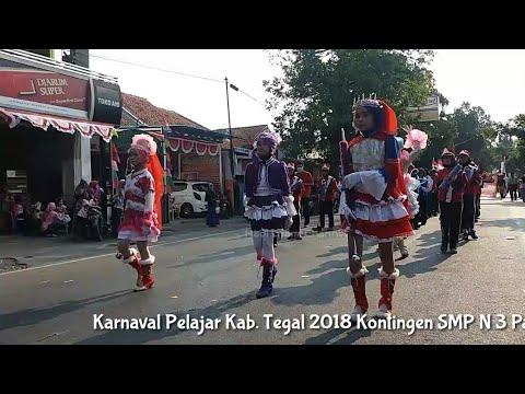 SMP N 3 Pangkah 'Karnaval Pelajar 2018 Kab.Tegal