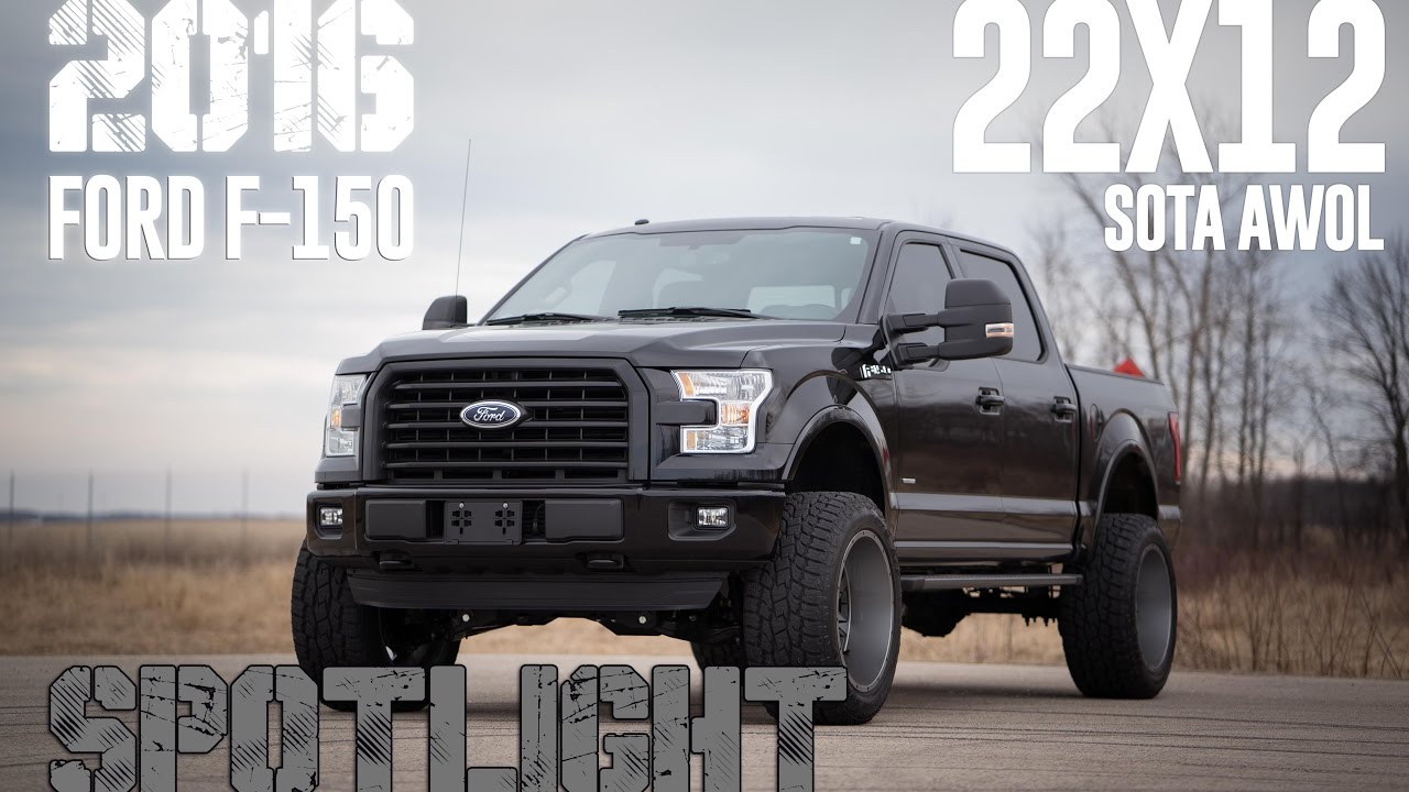 "Spotlight - 2016 Ford F-150, 6"" BDS Lift, Fox Shocks ..."