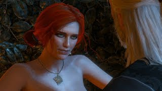 The Witcher 3 Triss Romance/Original (not in game) ending Movie