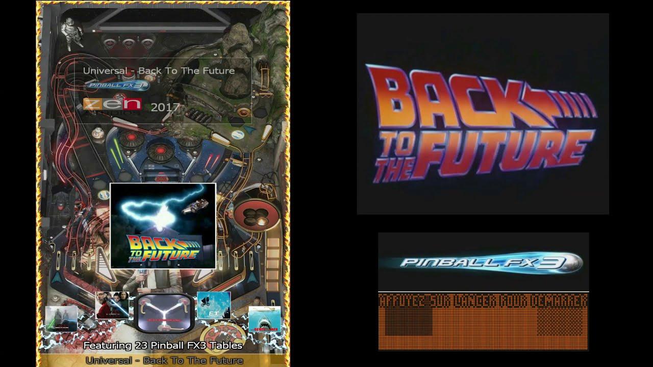 Apercu de mes medias packs Pinball FX3