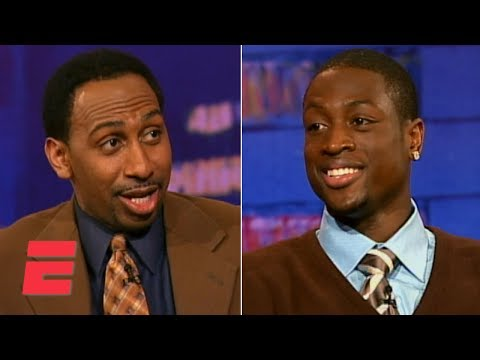 Stephen A. Smith Interviews Dwyane Wade (2006) | Quite Frankly | ESPN Archive
