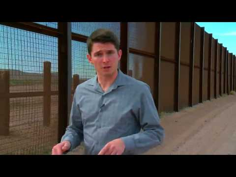 Border security at the Organ Pipe Cactus National Monument