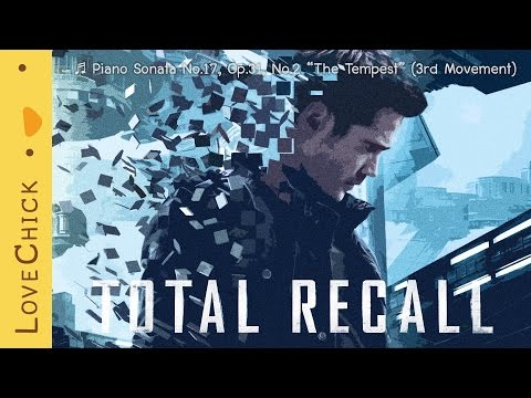 "Piano Sonata No.17, Op.31, No.2 ""The Tempest"" (3rd Movement) - Beethoven / Total Recall Piano Scene"