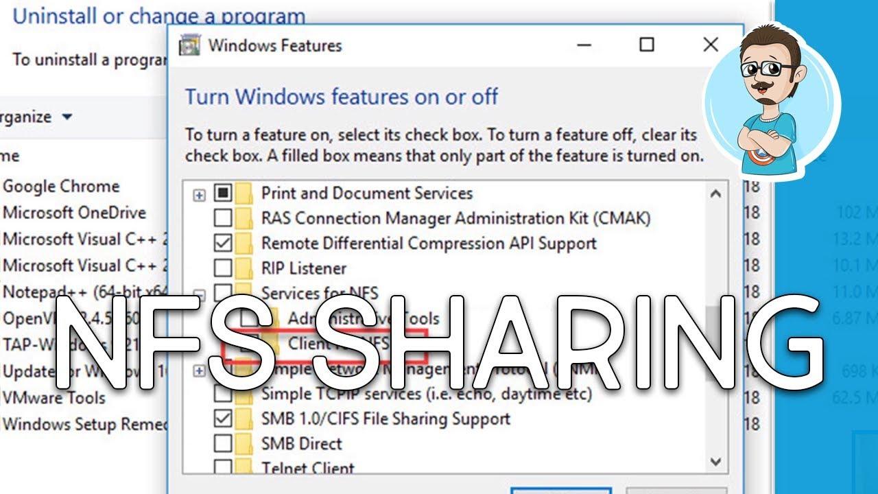 Configure NFS Share Windows Server 2016!