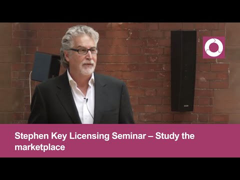 Stephen Key Licensing Seminar | Study the marketplace | Step #1