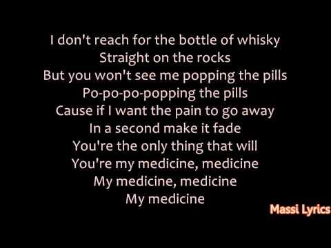Shakira - Medicine Ft. Blake Shelton [LYRICS ON SCREEN]