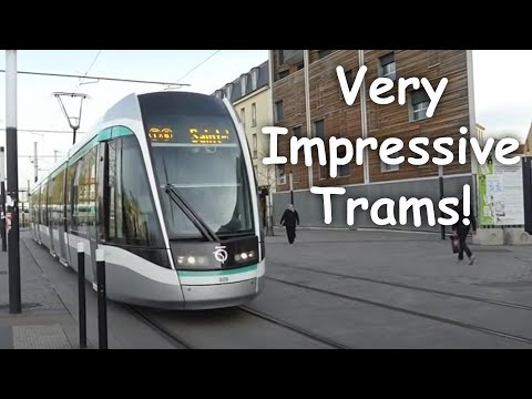 Trams of Paris 2016 - All Models
