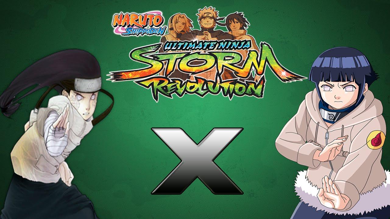 Naruto Shippuden Ultimate Ninja Storm Revolution - Luta Clássica - Neji x Hinata - Gameplay - PC ...
