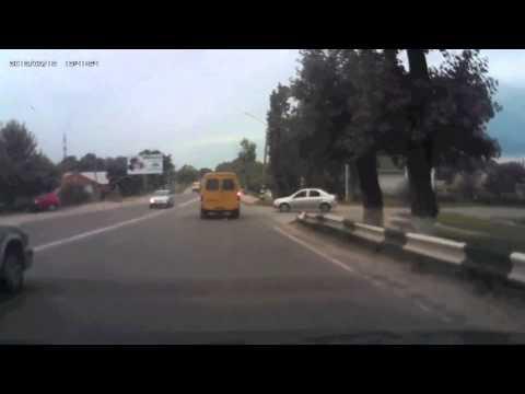 ДТП перед мостом на р. Сухая Россошь июль 2014//RossoshRu.ru