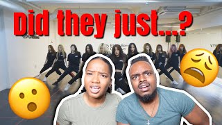 Gambar cover LOONA CHERRY BOMB (NCT) & FIRE (BTS) DANCE COVER REACTION🔥🔥 LIT!!!!