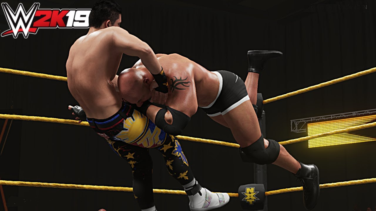 Download Goldberg vs TJP   WWE 2K19 PC #OneMoreStreak