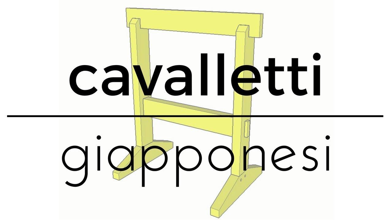 Fai Da Te Cavalletti Giapponesi Youtube