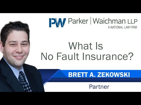 What Is No Fault Insurance? - New York Auto Accident Attorney Brett Zekowski explains