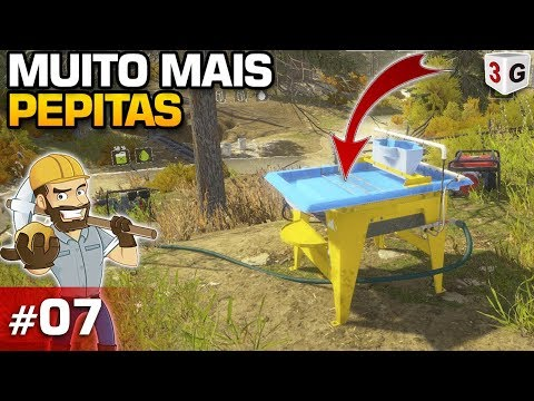 GOLD RUSH THE GAME #07 : USANDO MESA WAVE MUITO MAIS OURO