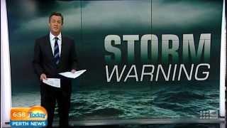 Storm Warning | Today Perth News