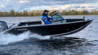 Лучший катер до 1 миллиона. Алюминиевая лодка из Самары Волжанка 50 (Volzhanka 50 Fish)