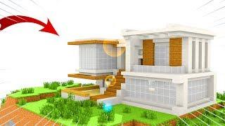 Xây Nhà Hiện Đại Siêu Dễ Trong ( Minecraft )