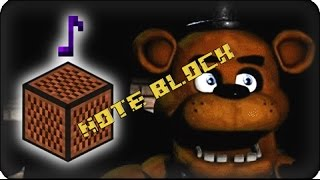 [Note block #27] Five Nights at Freddy's - Minecraft
