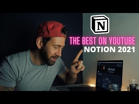 I MADE THE BEST NOTION LAYOUT ON YOUTUBE!