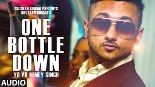 one bottle down full video song yo yo honey singh t series