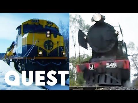 Railroad Australia VS Railroad Alaska   Quest TV