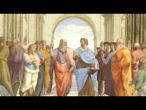 Plato's Academy - Raphael's painting: A who's who?