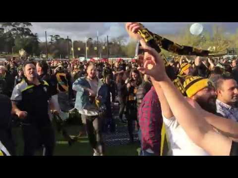 Final Siren - AFL Grand Final 2017 - Punt Road Oval - Richmond v Adelaide