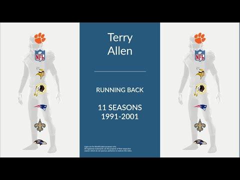 Terry Allen: Football Running Back