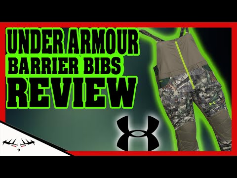UNDER ARMOUR BARRIER BIBS REVIEW | WORTH IT OR NOT | UNDER ARMOUR SCENT CONTROL