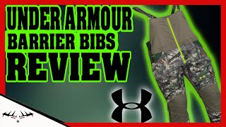 UNDER ARMOUR BARRIER BIBS REVIEW   WORTH IT OR NOT   UNDER ARMOUR SCENT CONTROL