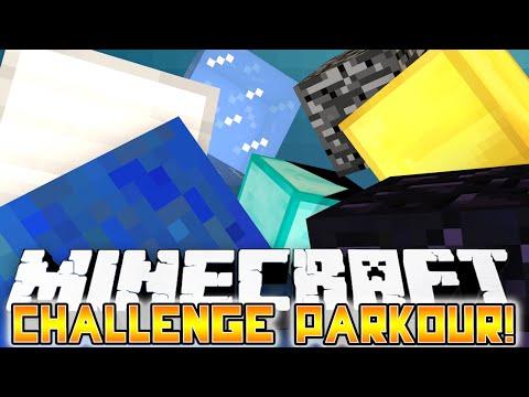Minecraft: 7 STAGE CHALLENGE PARKOUR! - w/Preston, Mitch & Lachlan!